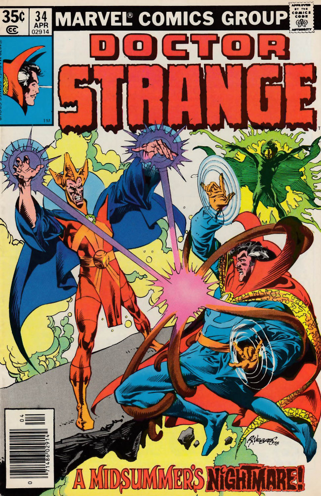 Couverture de Doctor Strange (1974) -34- A midsummer's nightmare