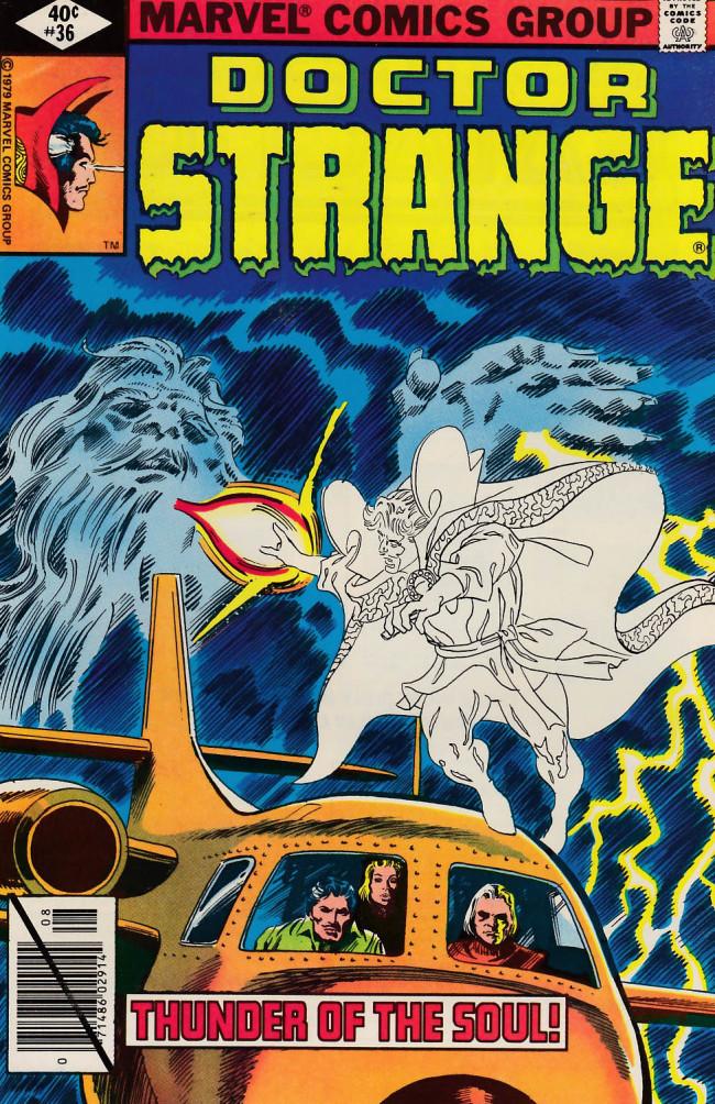 Couverture de Doctor Strange (1974) -36- The man who knew Stephen Sanders