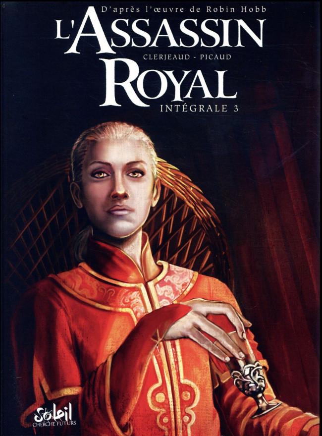 Couverture de L'assassin Royal -INT3- Intégrale 3