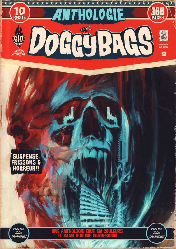Couverture de Doggybags -REC- Anthologie Doggybags