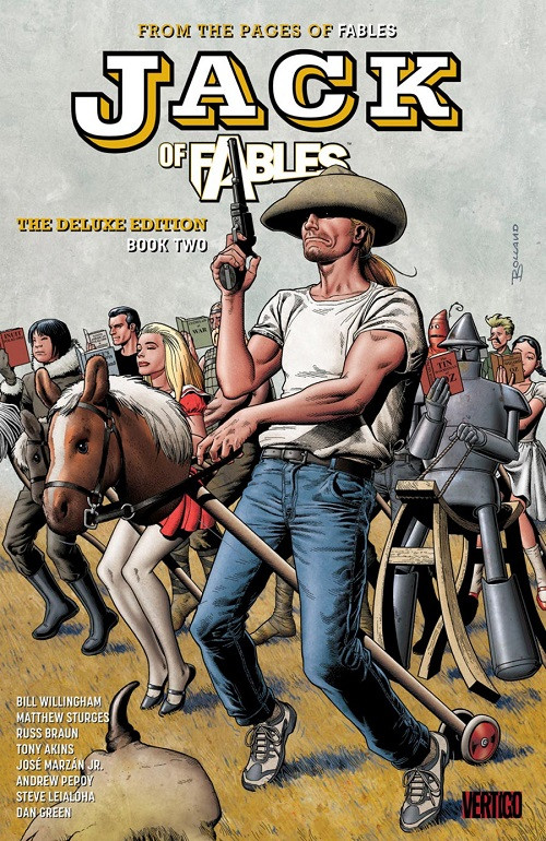 Couverture de Jack of Fables (2006) -INTHC02- Deluxe Edition Book Two