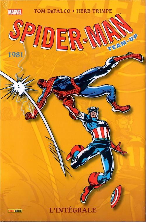 Couverture de Spider-Man Team-Up (L'Intégrale) -8INT- L'intégrale 1981