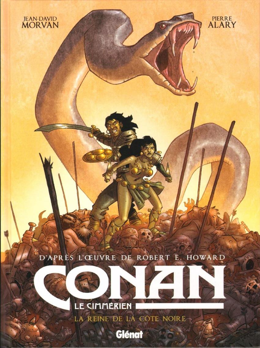 Couverture de Conan le Cimmérien -1- La Reine de la Côte noire