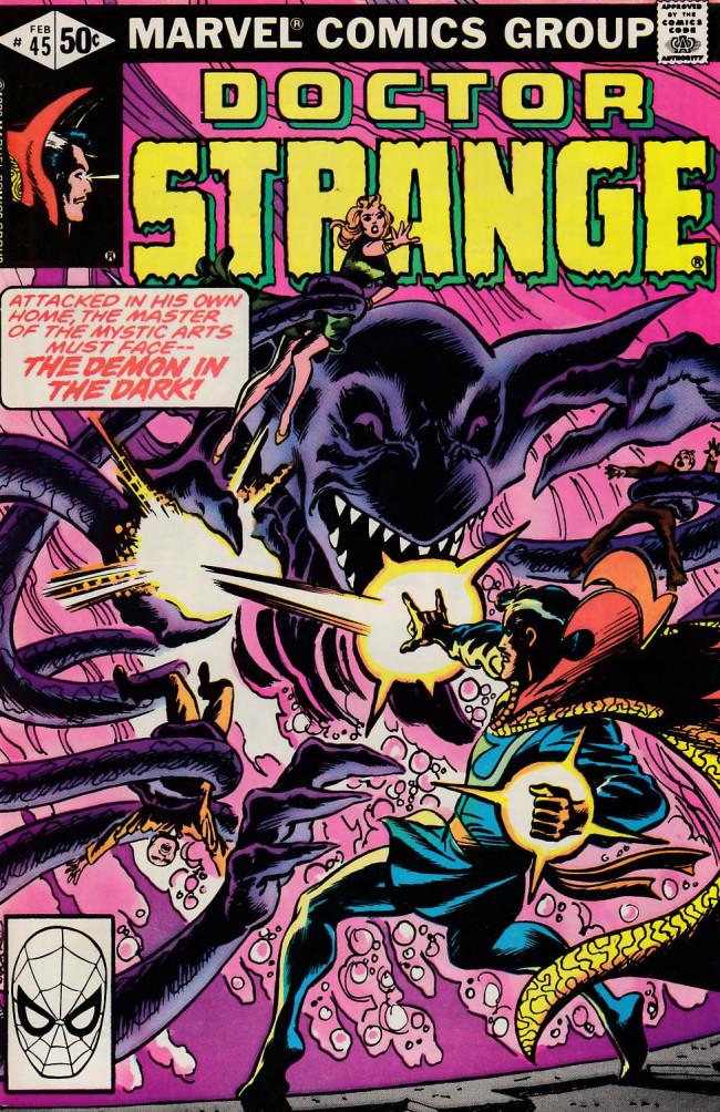Couverture de Doctor Strange (1974) -45- Wizard of the West Village