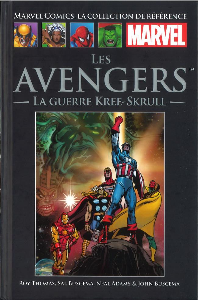 Couverture de Marvel Comics - La collection (Hachette) -107XXI- Les Avengers - La Guerre Kree-Skrull