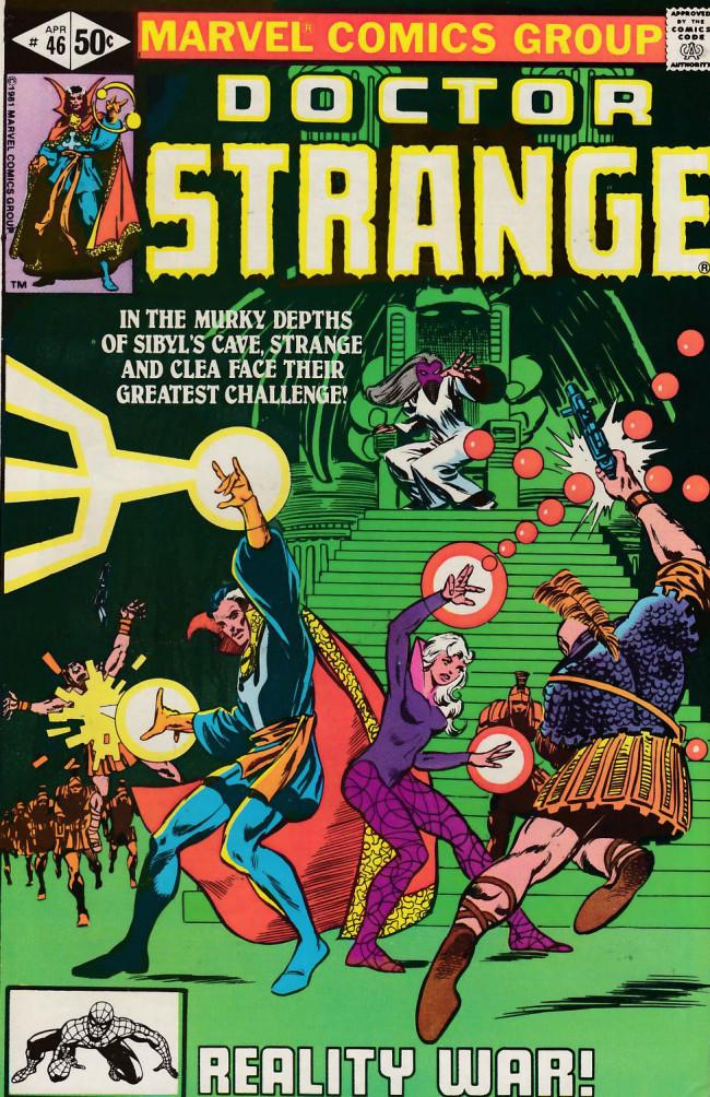 Couverture de Doctor Strange (1974) -46- The reality war