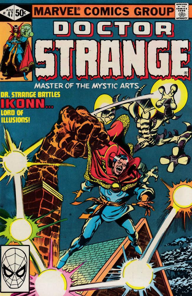Couverture de Doctor Strange (1974) -47- The grand illusion