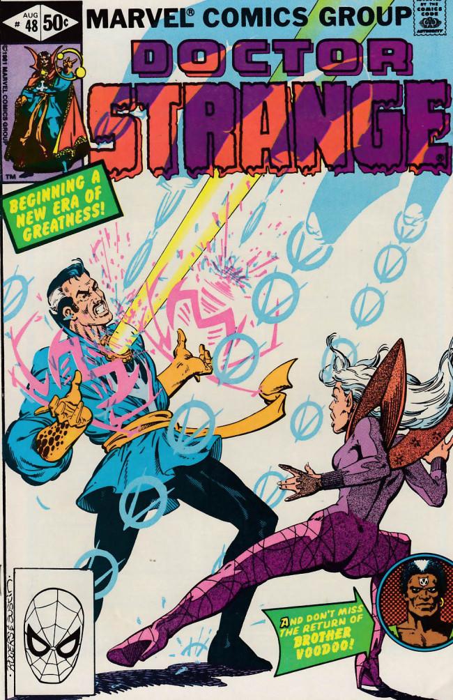 Couverture de Doctor Strange (1974) -48- The power of Dr. Strange