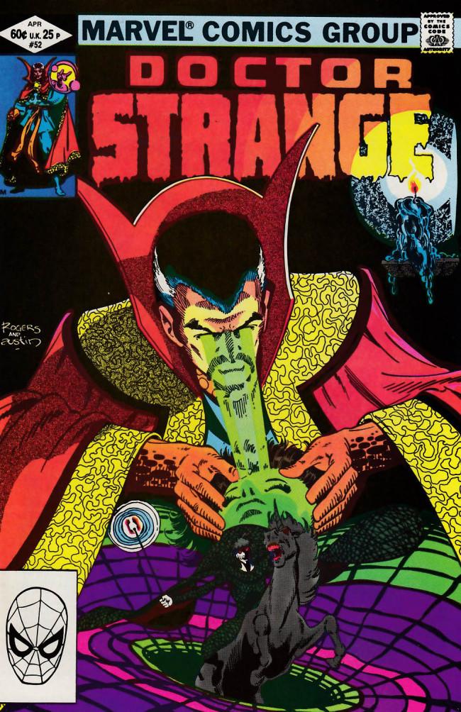 Couverture de Doctor Strange (1974) -52- Life-times
