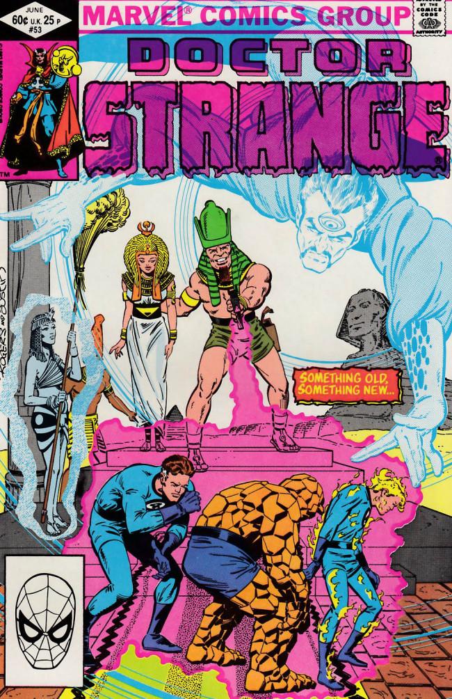 Couverture de Doctor Strange (1974) -53- Land of the pharaohs