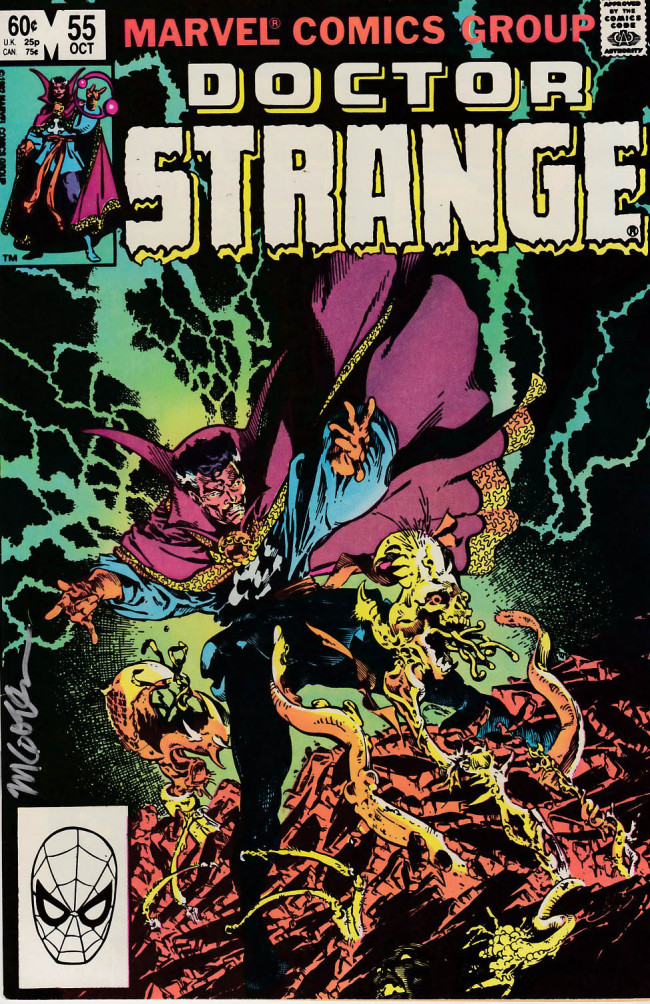 Couverture de Doctor Strange (1974) -55- To have love...and lost!