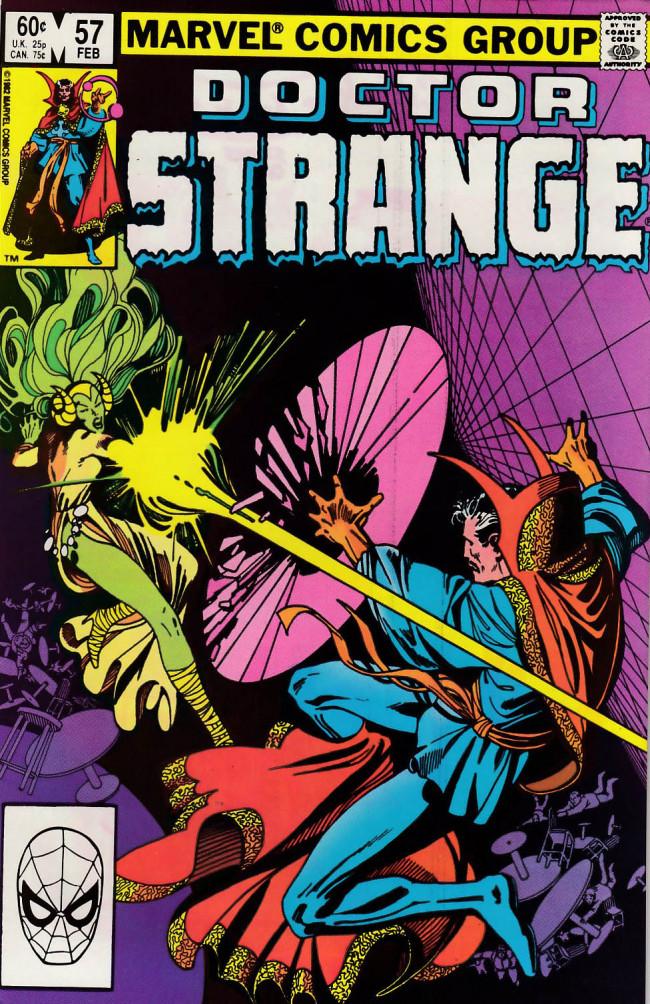 Couverture de Doctor Strange (1974) -57- Gather my disciples before me