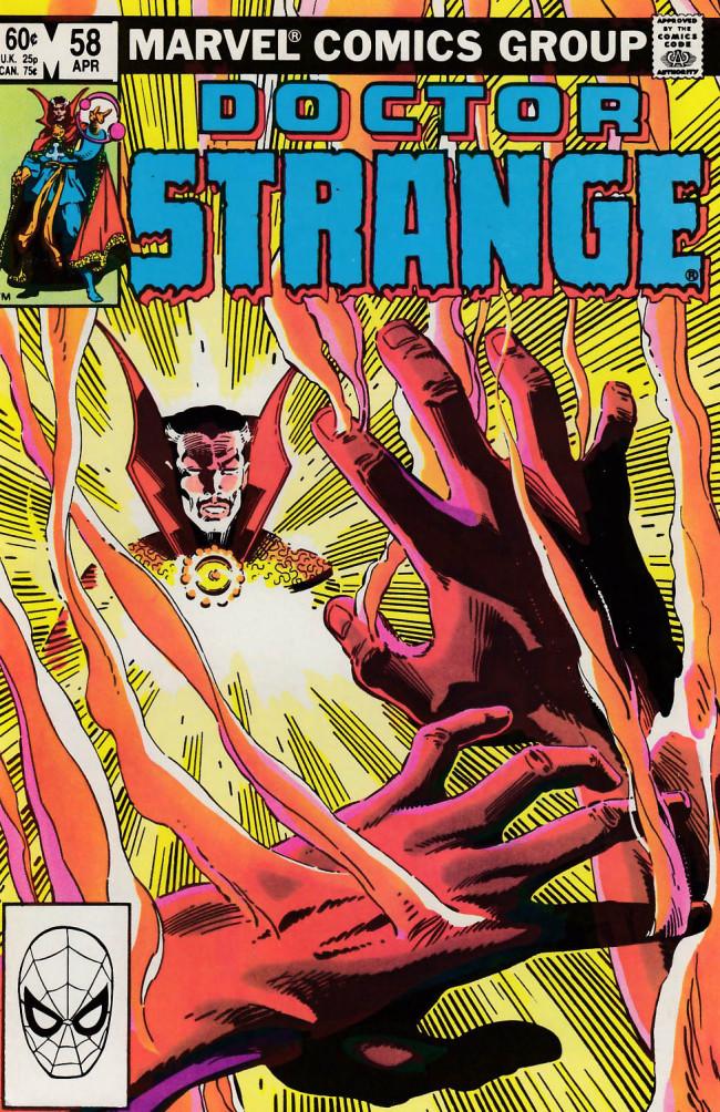 Couverture de Doctor Strange (1974) -58- At loose ends