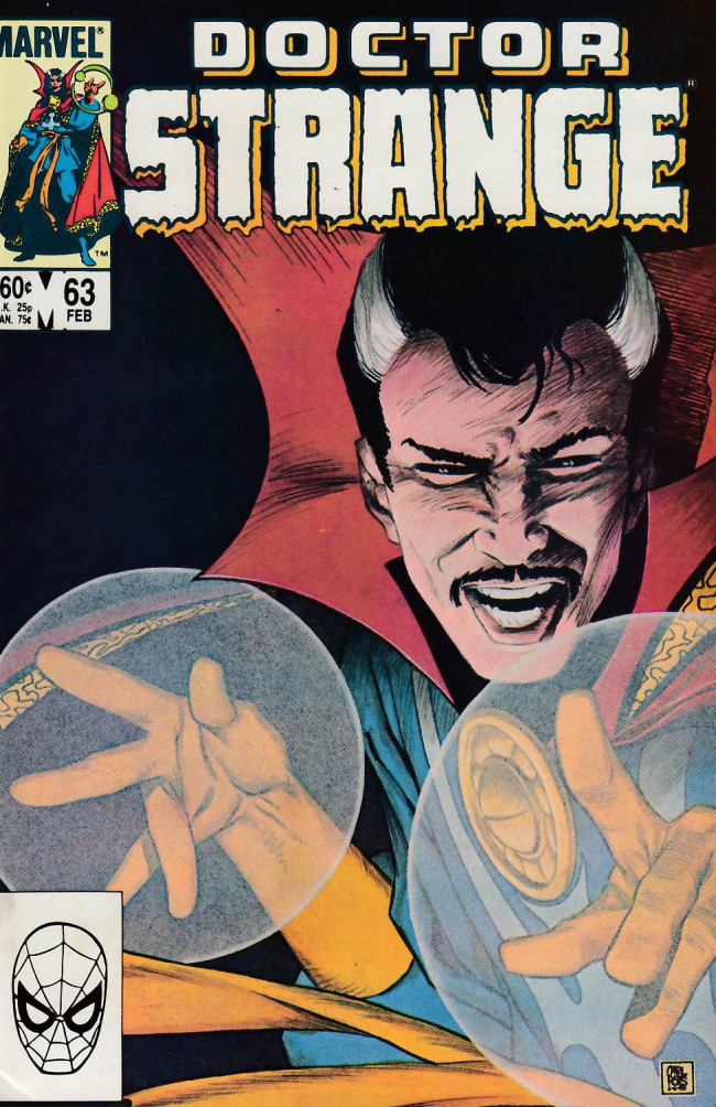 Couverture de Doctor Strange (1974) -63- Cry of the spirit