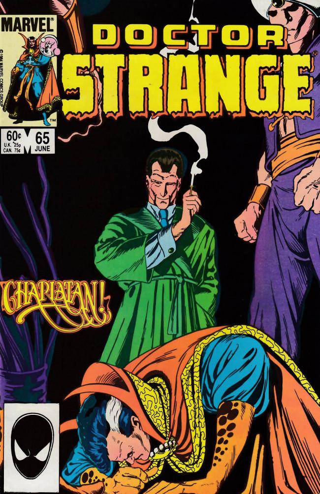 Couverture de Doctor Strange (1974) -65- Charlatan!