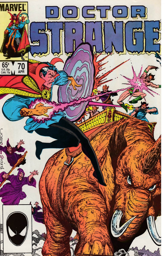 Couverture de Doctor Strange (1974) -70- Deadly exchange