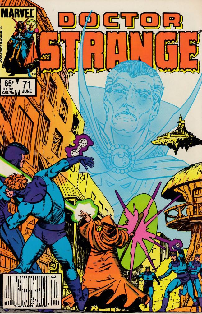 Couverture de Doctor Strange (1974) -71- Dark dimension