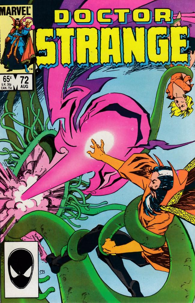 Couverture de Doctor Strange (1974) -72- Secret origin