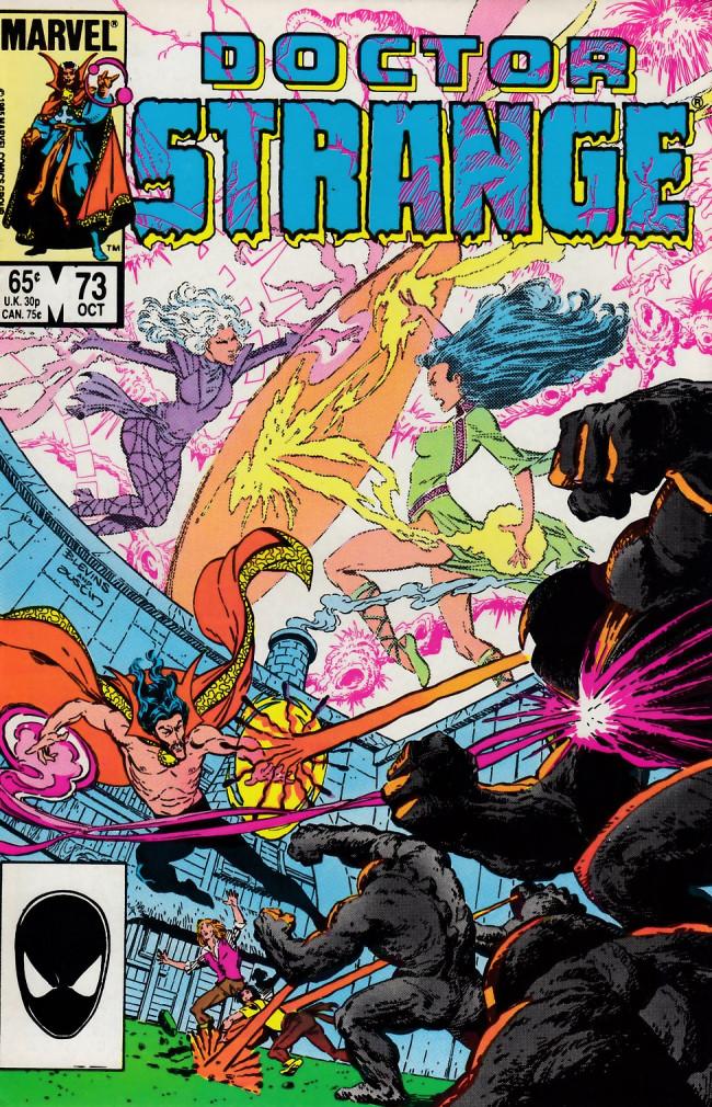 Couverture de Doctor Strange (1974) -73- Final triumph