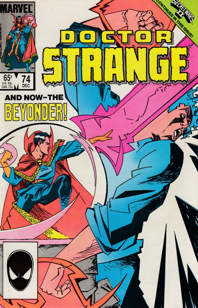 Couverture de Doctor Strange (1974) -74- And now...The beyonder
