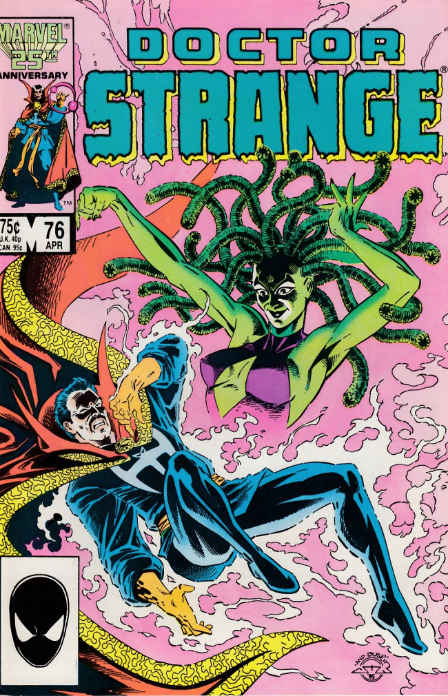 Couverture de Doctor Strange (1974) -76- What song the sirens sang!