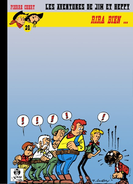 Couverture de Jim L'astucieux (Les aventures de) - Jim Aydumien -26- Rira bien...
