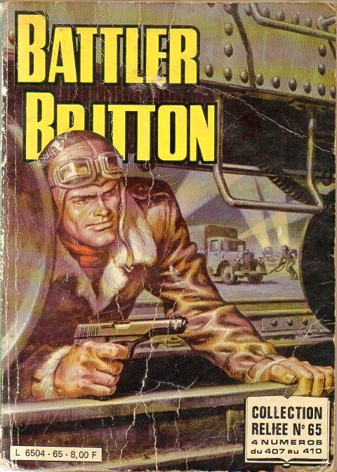 Couverture de Battler Britton (Imperia) -Rec65- Collection Reliée N°65 (du n°407 au n°410)