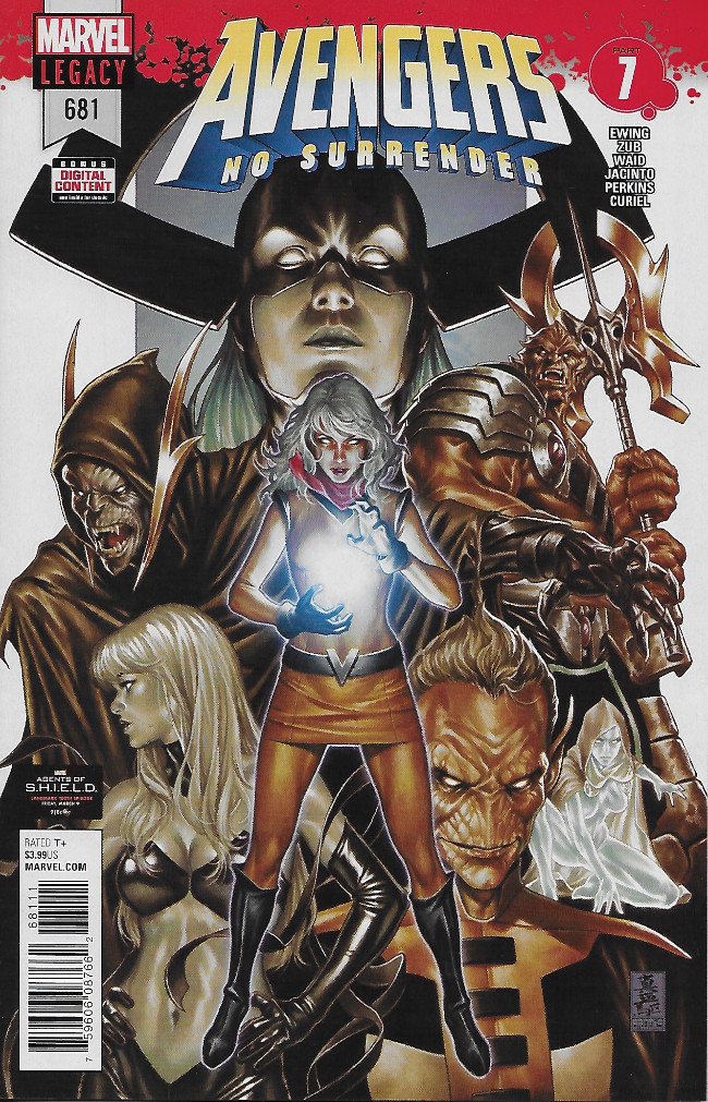 Couverture de Avengers (2017) -681- Avengers No Surrender Part 7