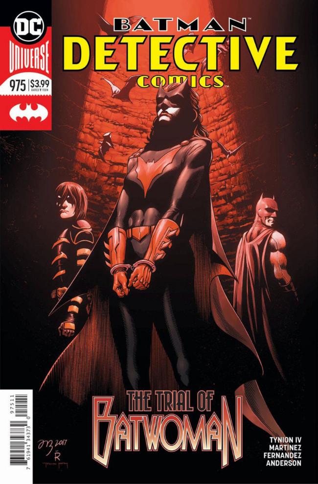 Couverture de Detective Comics (1937) -975- The Trial of Batwoman