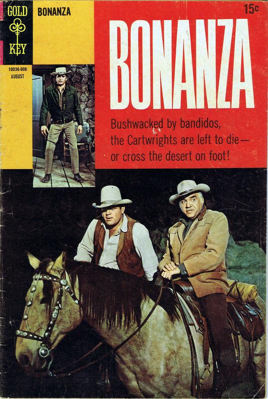 Couverture de Bonanza (Gold Key - 1962) -33- (sans titre)