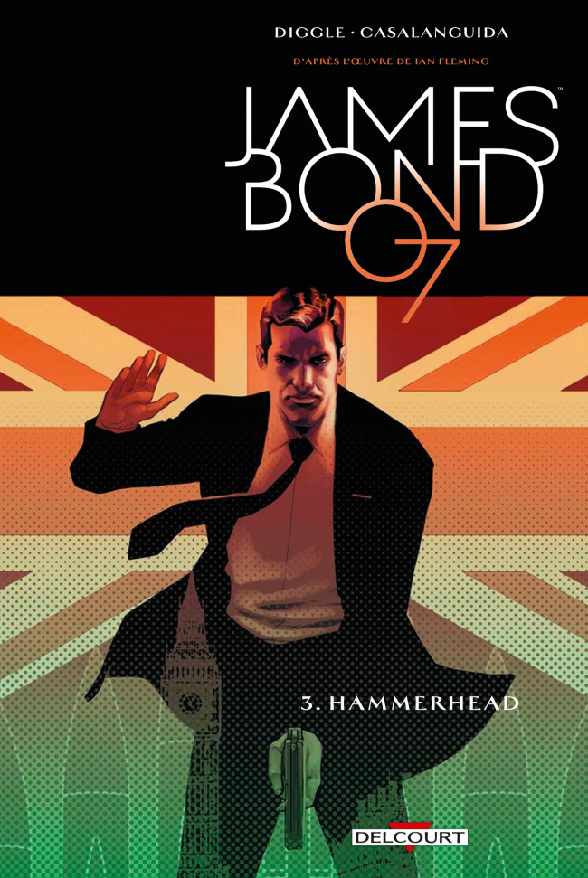 Couverture de James Bond (Delcourt) -3- Hammerhead