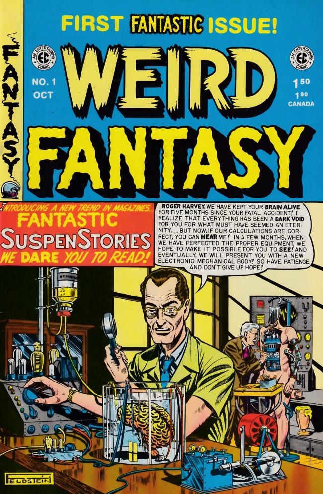 Couverture de Weird Fantasy (1992) -1- Weird Fantasy 13 (1950)