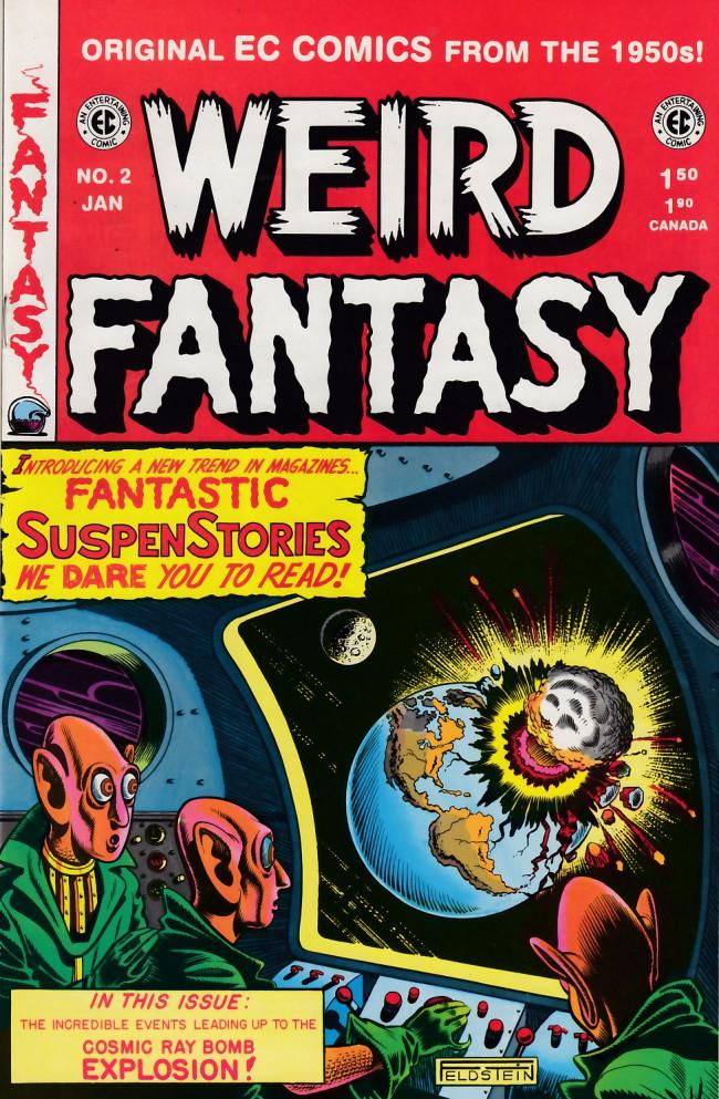 Couverture de Weird Fantasy (1992) -2- Weird Fantasy 14 (1950)