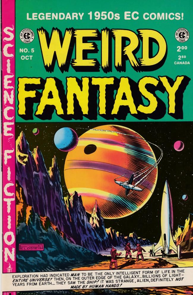 Couverture de Weird Fantasy (1992) -5- Weird Fantasy 17 (1951)