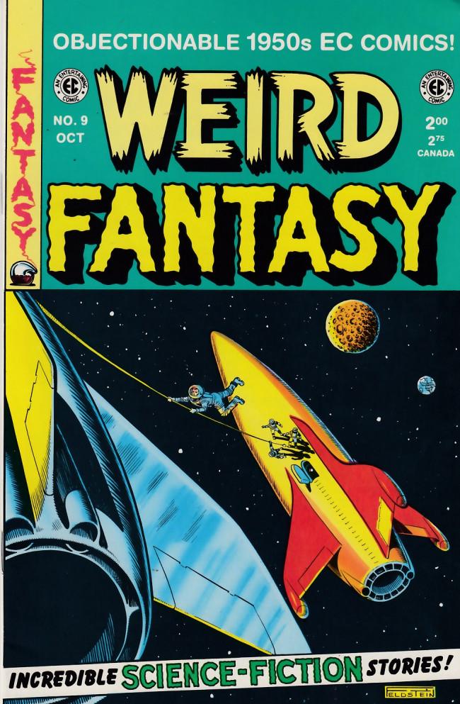 Couverture de Weird Fantasy (1992) -9- Weird Fantasy 9 (1951)
