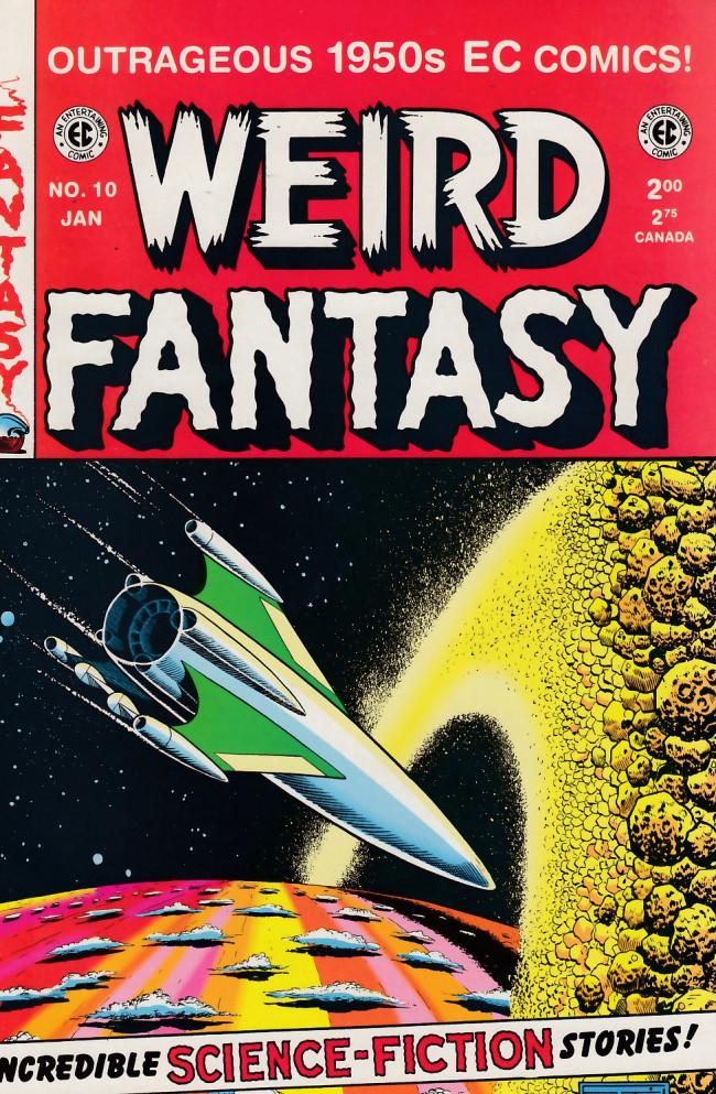 Couverture de Weird Fantasy (1992) -10- Weird Fantasy 10 (1951)