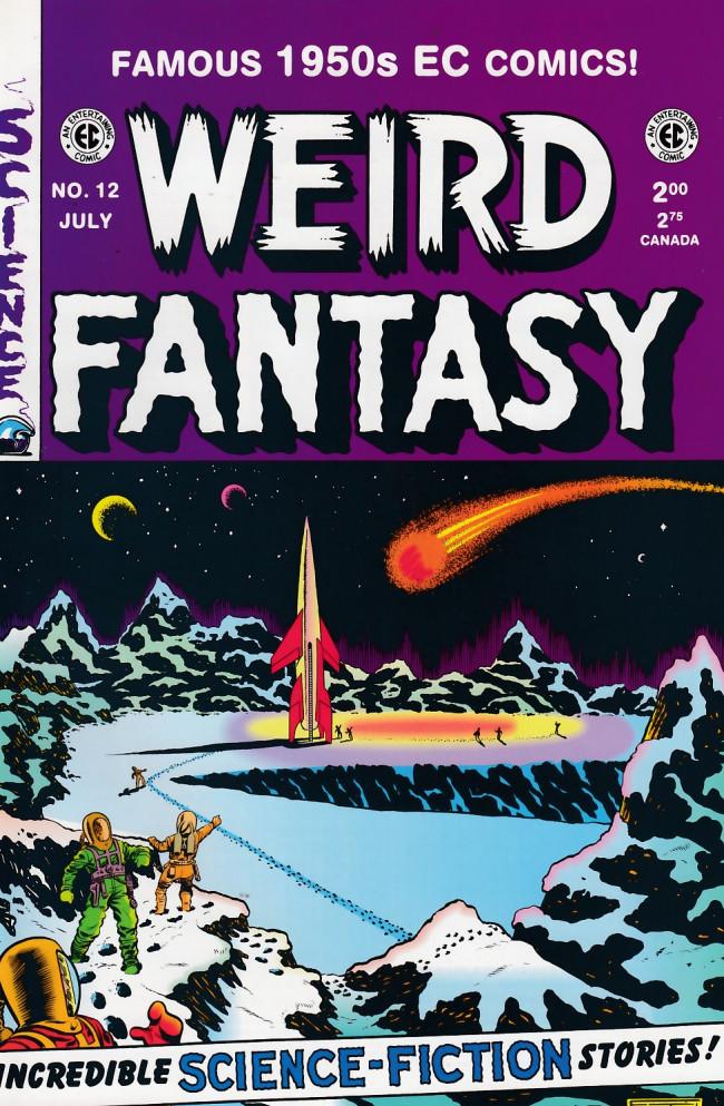 Couverture de Weird Fantasy (1992) -12- Weird Fantasy 12 (1952)