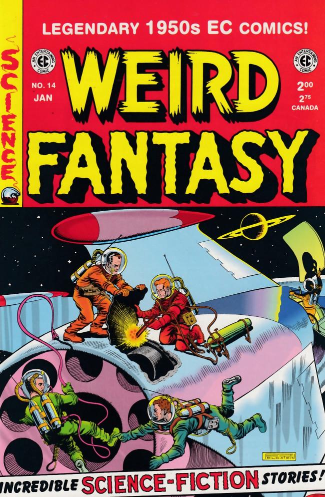 Couverture de Weird Fantasy (1992) -14- Weird fantasy 14 (1952)