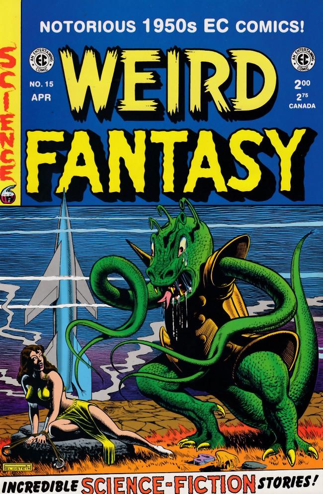 Couverture de Weird Fantasy (1992) -15- Weird Fantasy 15 (1952)