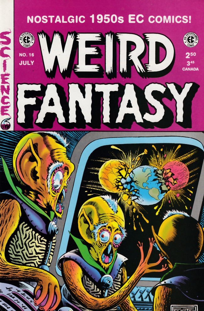 Couverture de Weird Fantasy (1992) -16- Weird Fantasy 16 (1952)