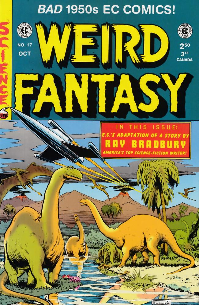 Couverture de Weird Fantasy (1992) -17- Weird Fantasy 17 (1953)