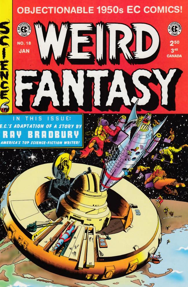 Couverture de Weird Fantasy (1992) -18- Weird Fantasy 18 (1953)