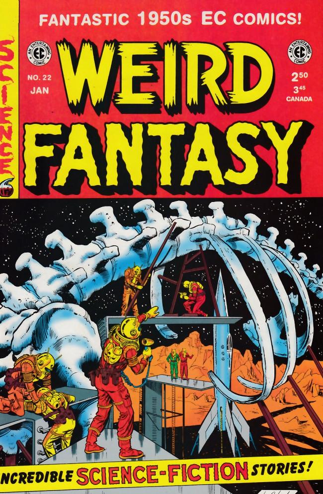 Couverture de Weird Fantasy (1992) -22- Weird Fantasy 22 (1953)