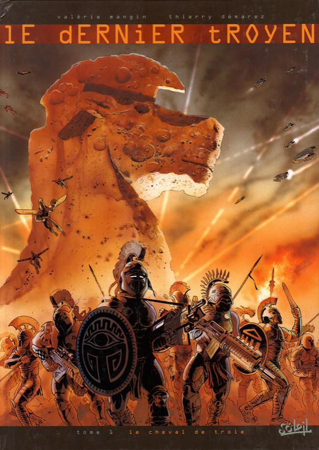 Couverture de Le dernier Troyen -1- Le cheval de Troie