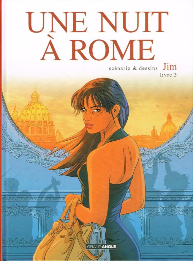 Couverture de Une nuit à Rome -3- Tome 3