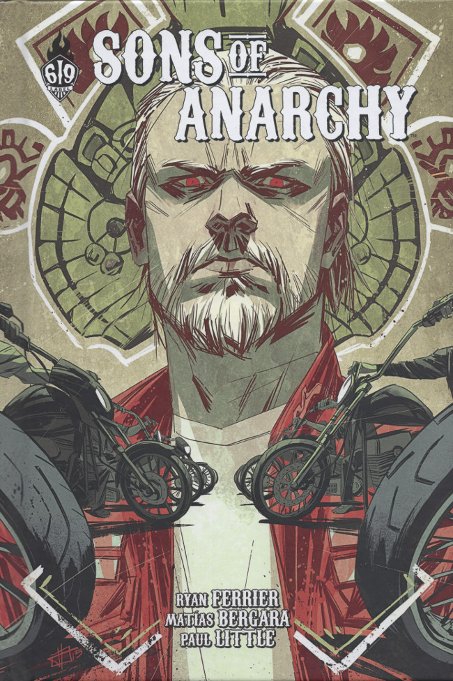 Couverture de Sons of Anarchy -5- Tome 5