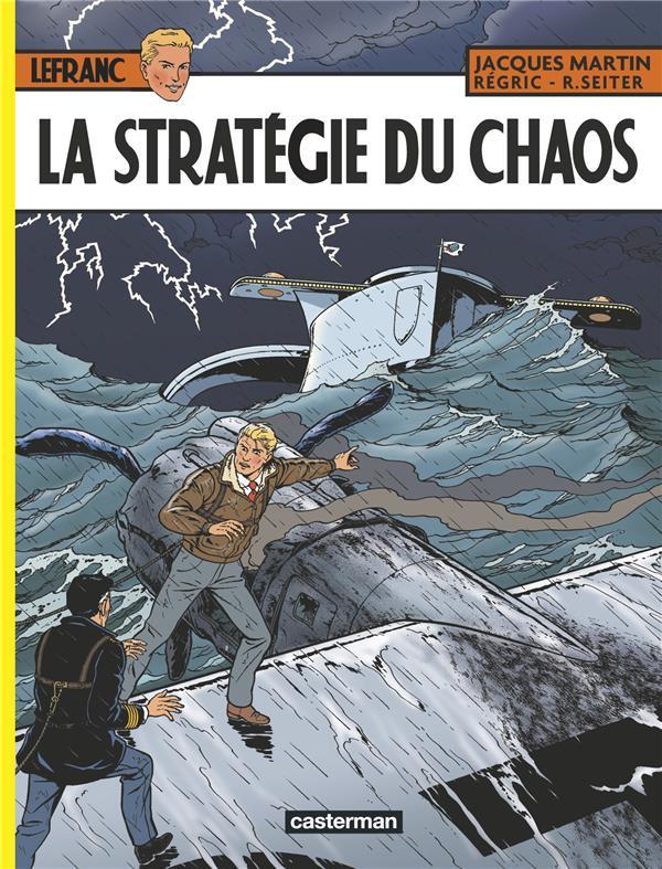 Couverture de Lefranc -29- La stratégie du chaos
