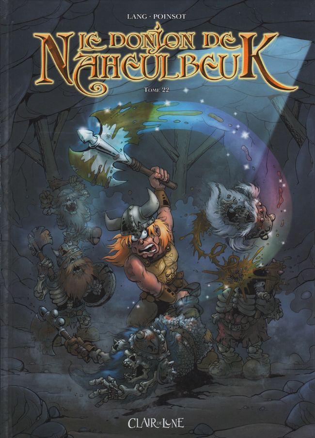 Couverture de Le donjon de Naheulbeuk -22- Tome 22