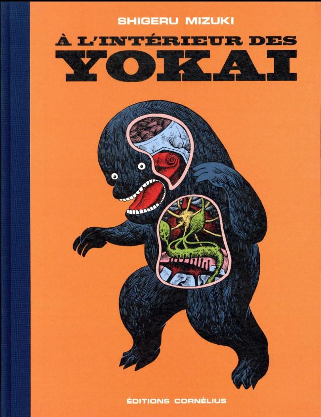 Couverture de À l'intérieur des yôkaï