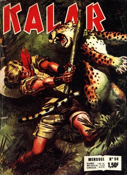 Couverture de Kalar -98- Le revenant